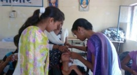 Enrolled girls learning beautician