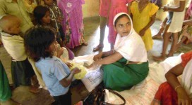ASHA, AWW providing their services of VHND