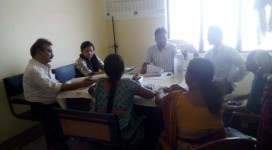 Gramya team dialogue with the Govt. health officials in block-RKS meeting